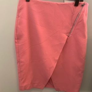 LOFT Skirts - NWT Loft pink wool skirt